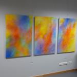"""Impressionen von der Ausstellung """"FARBENRAUSCH"""" vom 23.10.2009 bis 29.01.2010"""