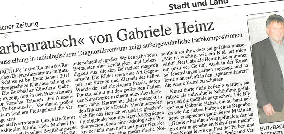 Artikel Butzbacher Zeitung 02.11.2010
