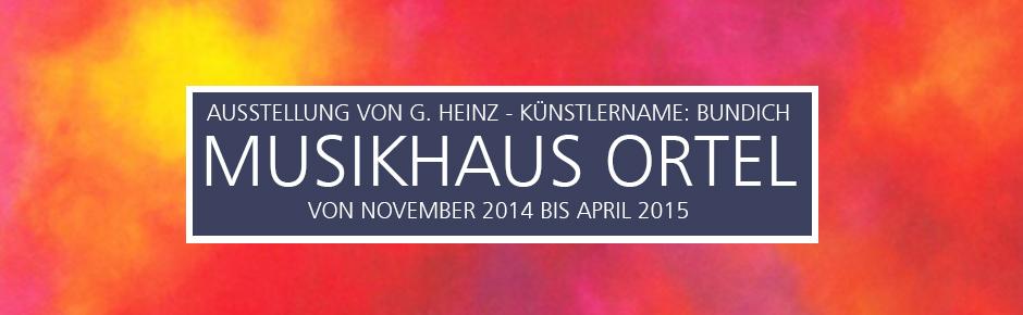 Ausstellung im Musikhaus Ortel